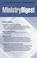 Ministry Digest vol. 2, no. 12